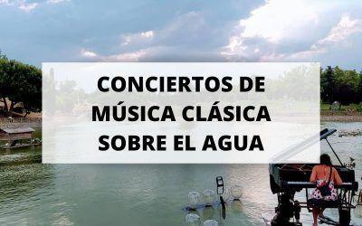 Planazo para este verano: Concierto de música clásica sobre el agua