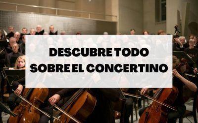 ¿Qué es el concertino?