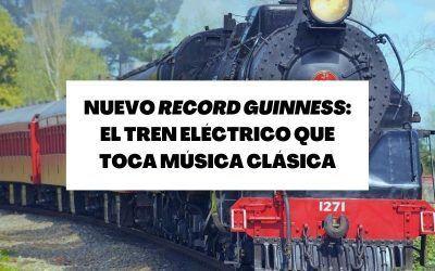 Descubre el tren eléctrico en miniatura que toca temas de música clásica